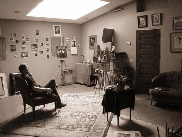 Steve Levin Studio sitting