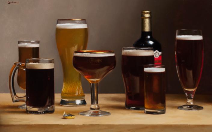 Beer, 14 x 22, 2007